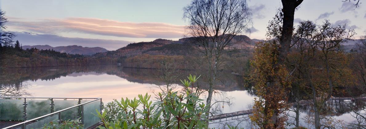 Beautiful loch-side location